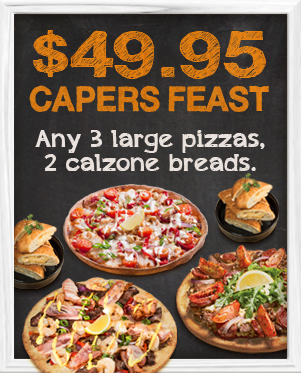 $49.95 Capers Feast