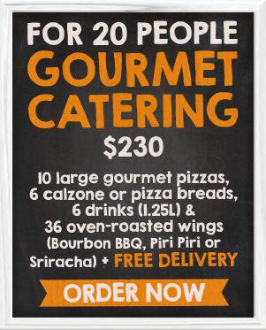 Gourmet Catering B